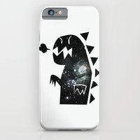 iPhone & iPod Case featuring Galactic dinosaur by moc ging