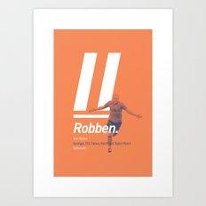 Robben Netherlands 11 Art Print
