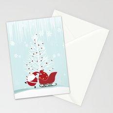 Happy Santa Stationery Cards