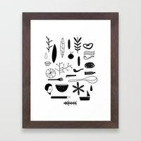 Doddle Framed Art Print