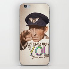 The Trojan Horse needs You...BUY A PRINT, FUND A FILM iPhone & iPod Skin