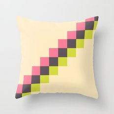 Stairs of Squares Throw Pillow