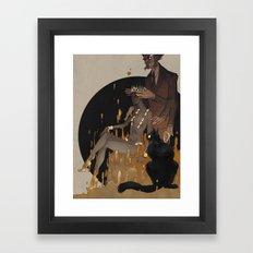 Master And Margarita Framed Art Print