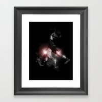Break Dancer Framed Art Print
