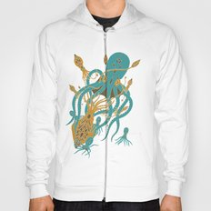 Battle of the Cephalopods Hoody