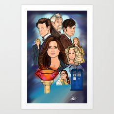 The Day of The Doctor Art Print