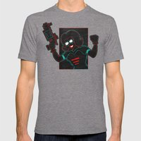 Revolver Mens Fitted Tee Tri-Grey SMALL