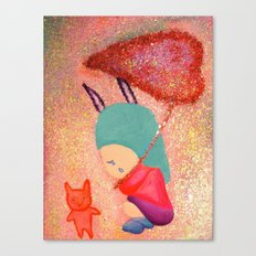 Let me go with you Canvas Print