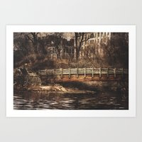 A Bridge Art Print