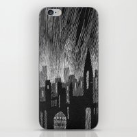 Black City iPhone & iPod Skin