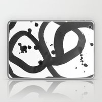 Black & White Abstract 3 Laptop & iPad Skin