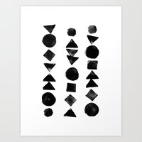 Geometry 3 Art Print
