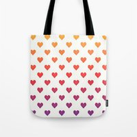 POP heART Tote Bag