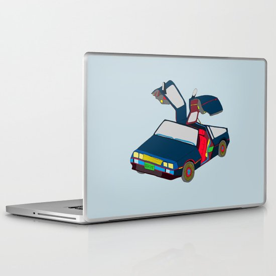 Cool Boys Like Flying Cars Laptop & iPad Skin
