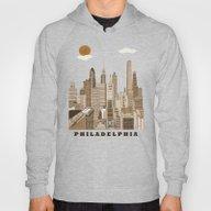 Philadelphia Skyline Vin… Hoody