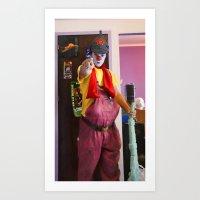 Clown Durilov Art Print