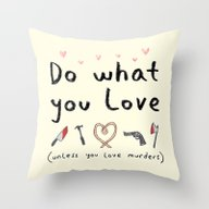 Throw Pillow featuring Motivational Poster by Sophie Corrigan