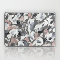 White and Grey Laptop & iPad Skin
