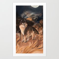The Fire Art Print
