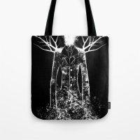The Slenderman Tote Bag