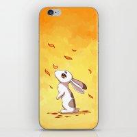 Autumn Hare iPhone & iPod Skin