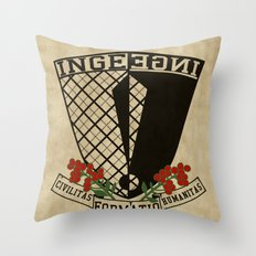 Coat of Arms of Inge Throw Pillow