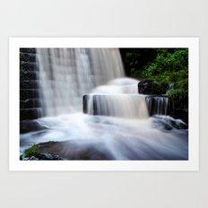 Top Waterfall Art Print