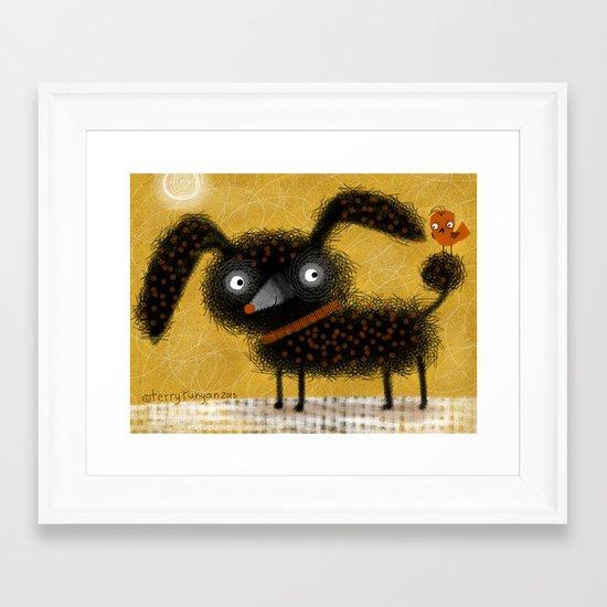DESIGNER DOG Framed Art Print