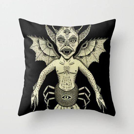 Incubus Throw Pillow