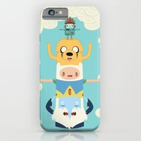 adventure iPhone & iPod Cases featuring Adventure Totem by Daniel Mackey