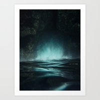 Surreal Sea Art Print