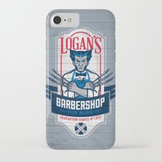 Logan's Barbershop iPhone 7 Slim Case