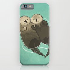 Significant Otters - Otters Holding Hands Slim Case iPhone 6s