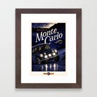 Motor Style Inc.: Rallye Monte Carlo Framed Art Print