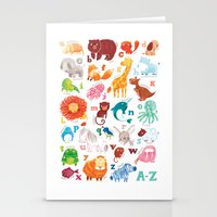 Animalphabet Stationery Cards