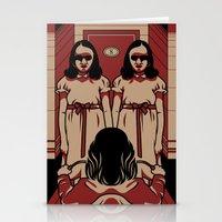 Dark Symmetry Stationery Cards