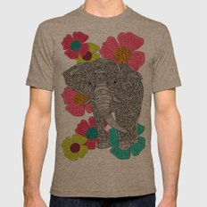 In Groveland Mens Fitted Tee Tri-Coffee SMALL