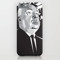 iPhone & iPod Case featuring Hitchcock by Matt Fontaine