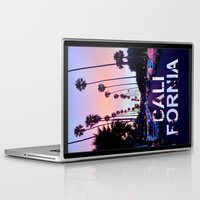 "california Laptop & iPad Skins featuring CaliforniA by ""CVogiatzi."
