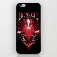 Bored Now iPhone & iPod Skin
