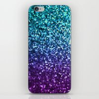 Mosaic Sparkley Texture G198 iPhone & iPod Skin
