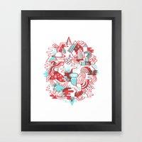 Space Deluxe Framed Art Print