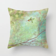 Forest Treasures Part B Throw Pillow