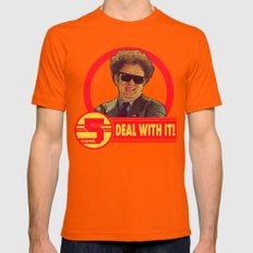 DEAL WITH IT! | Channel 5 | Brule Mens Fitted Tee Orange SMALL