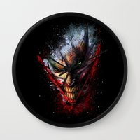 Madness is the Emergency Exit Wall Clock