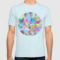 CirkZig Mens Fitted Tee Light Blue SMALL