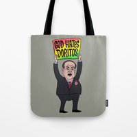 God Hates Doritos Tote Bag