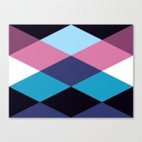Diamond Pattern 3 Canvas Print