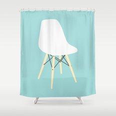 #98 Eames Chair Shower Curtain