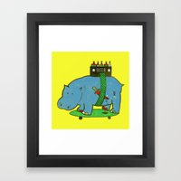 if there's a will, there's a way Framed Art Print